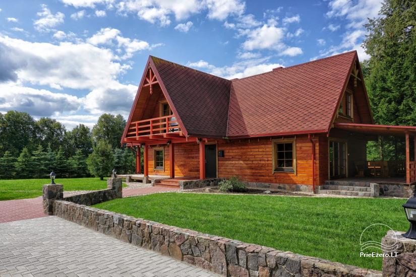 Viesu māja netālu Dubingiai, villa Baluošas - 36