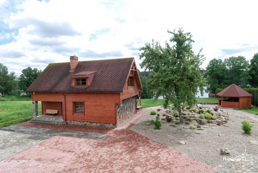 Viesu māja netālu Dubingiai, villa Baluošas - 44