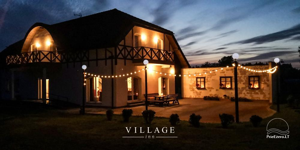 Lauku māja pasākumiem un atpūtai Village Inn - 1