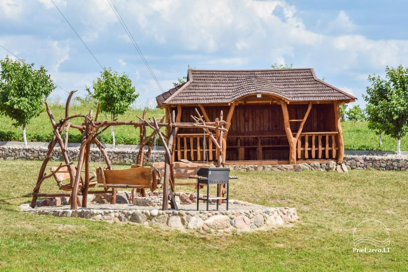 Lauku sēta Ērtības Traku rajonā, Lietuvā - 8