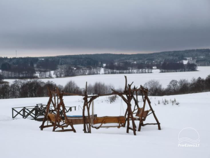 Lauku sēta Ērtības Traku rajonā, Lietuvā - 37