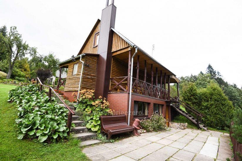 Villa starp ezeru un upju Plungė jomā - 5