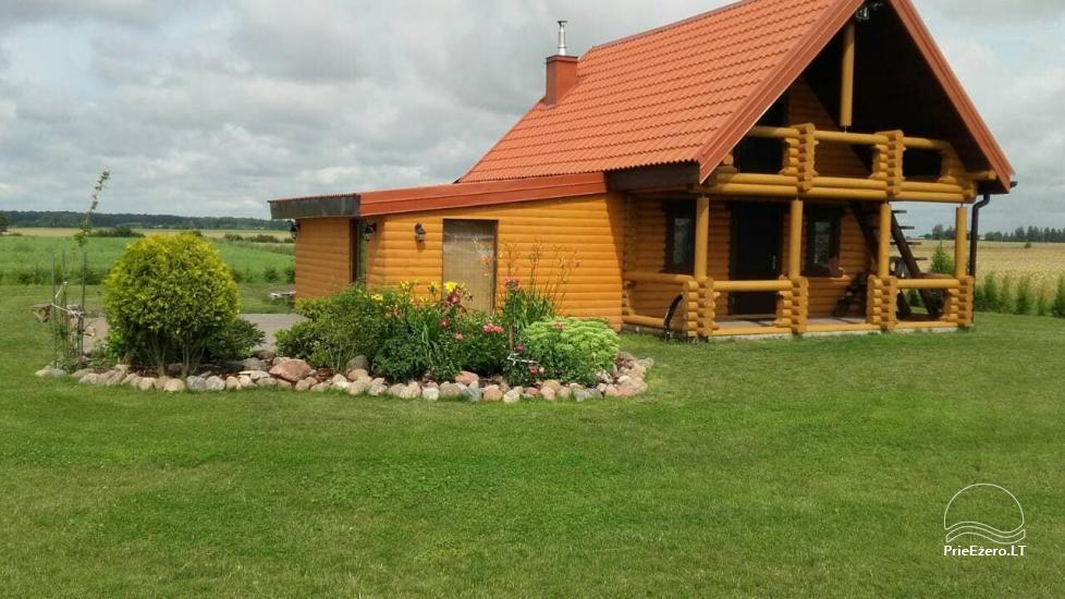 Lauku māja ar pirti Kauņas reģionā - 1
