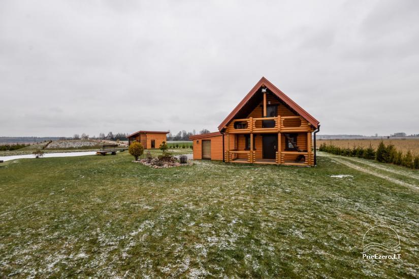 Lauku māja ar pirti Kauņas reģionā - 3