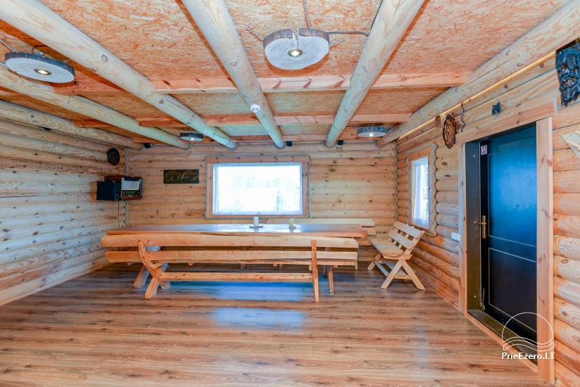 Lauku māja ar pirti Kauņas reģionā - 13
