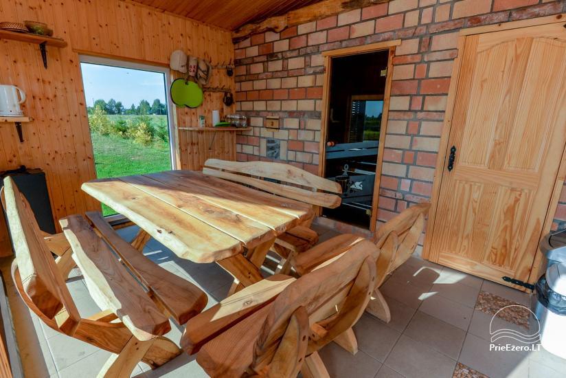 Lauku māja ar pirti Kauņas reģionā - 18
