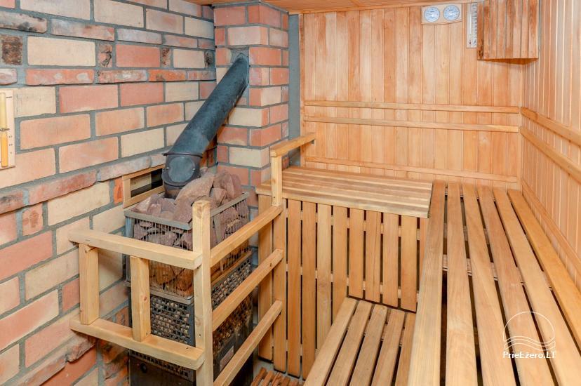 Lauku māja ar pirti Kauņas reģionā - 22