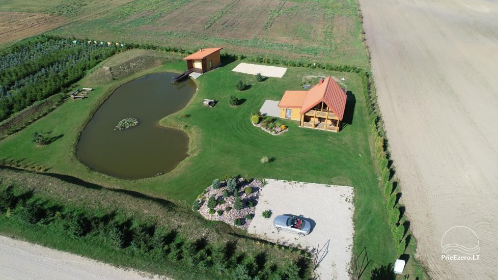 Lauku māja ar pirti Kauņas reģionā - 5