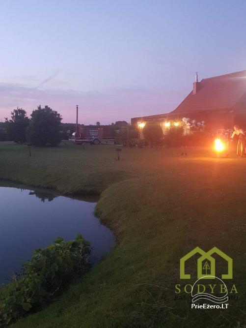 Lauku māja ar pirti Kauņas reģionā - 4