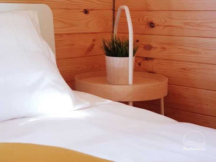 Mileikiai sēta: sauna, burbuļvanna, gulta, izklaide - 22