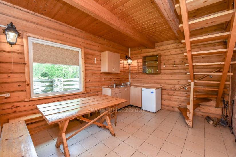 Lauku māja rajona Trakai pie ezera Baluosys - 22