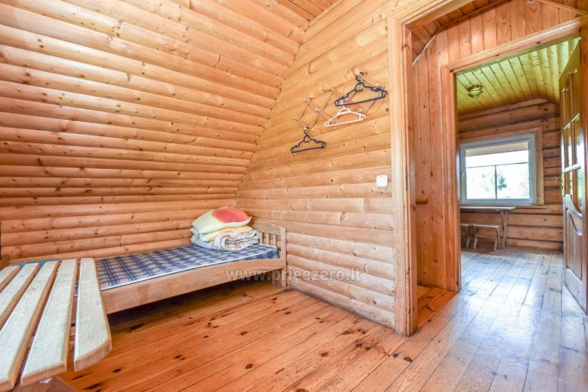 Lauku māja rajona Trakai pie ezera Baluosys - 27