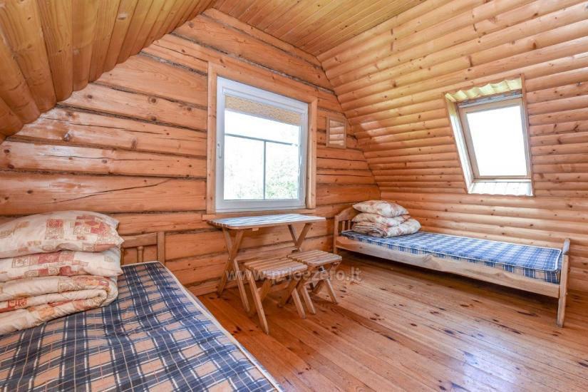 Lauku māja rajona Trakai pie ezera Baluosys - 28