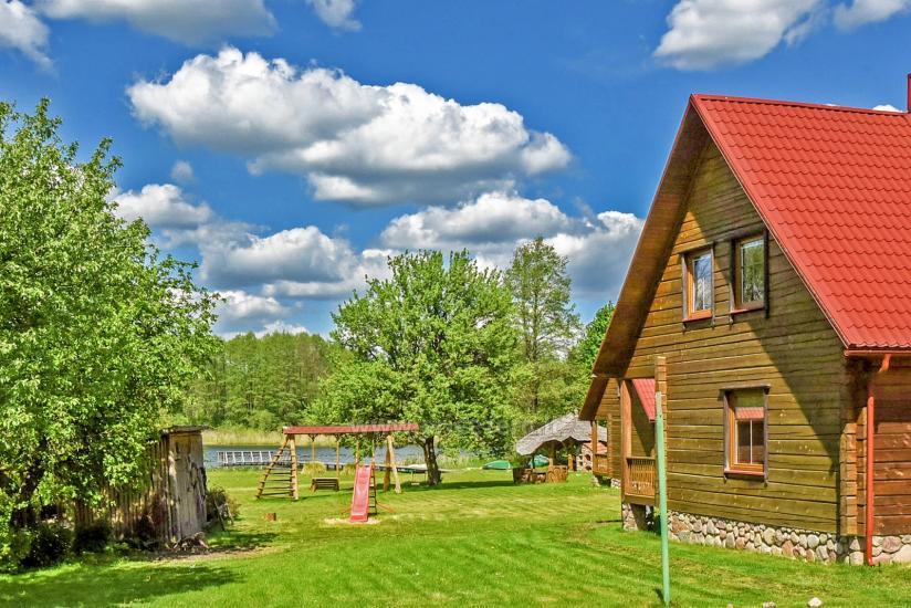 Lauku māja rajona Trakai pie ezera Baluosys - 1