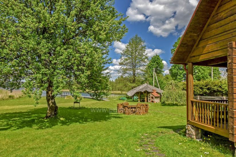 Lauku māja rajona Trakai pie ezera Baluosys - 7