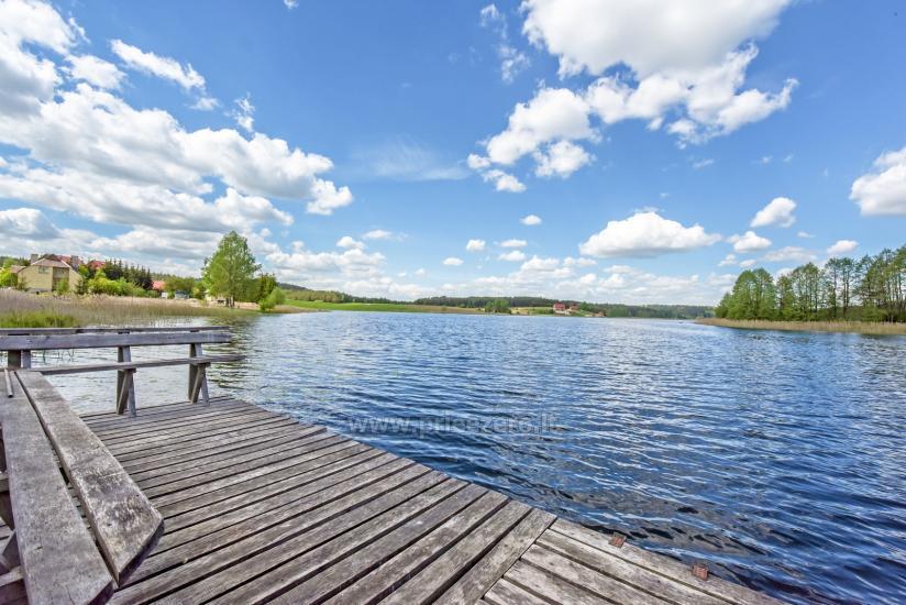 Lauku māja rajona Trakai pie ezera Baluosys - 8
