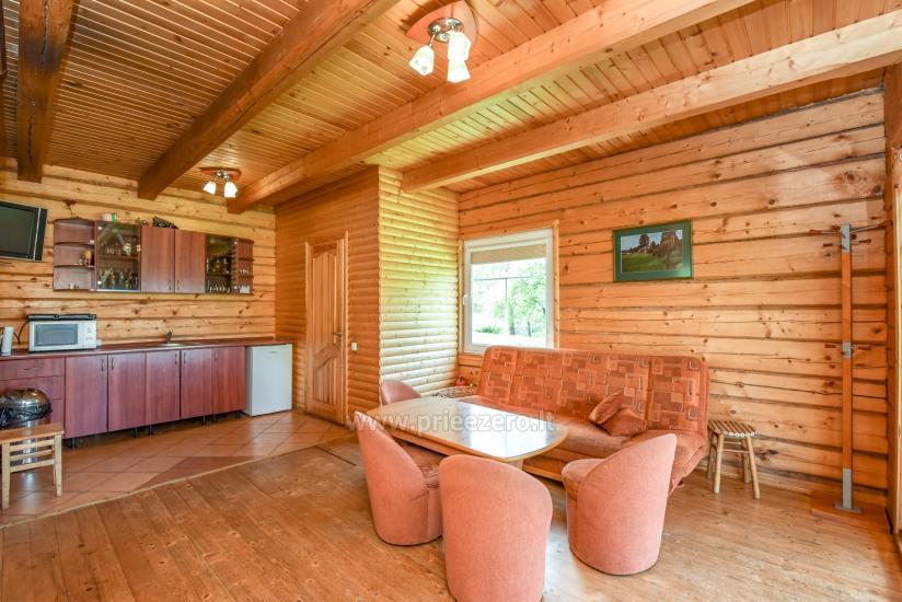 Lauku māja rajona Trakai pie ezera Baluosys - 12