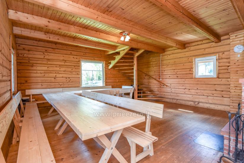 Lauku māja rajona Trakai pie ezera Baluosys - 13
