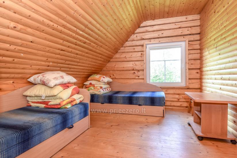 Lauku māja rajona Trakai pie ezera Baluosys - 15