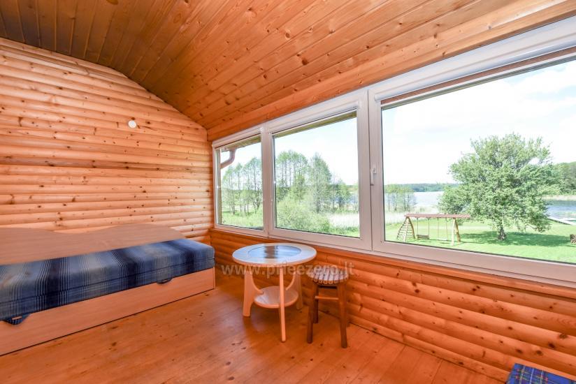 Lauku māja rajona Trakai pie ezera Baluosys - 16