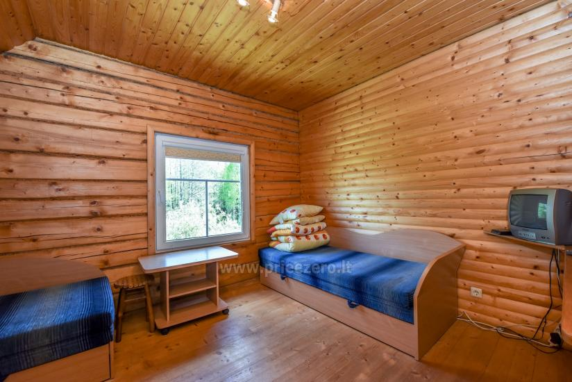 Lauku māja rajona Trakai pie ezera Baluosys - 17