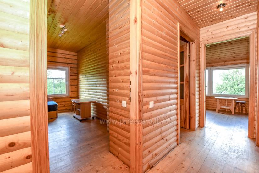 Lauku māja rajona Trakai pie ezera Baluosys - 18