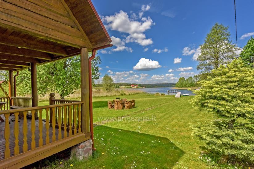 Lauku māja rajona Trakai pie ezera Baluosys - 20