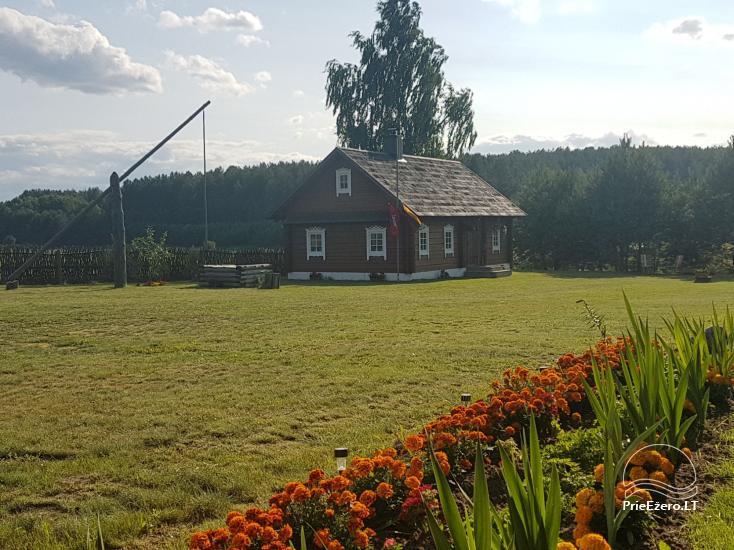 Etnogrāfiskā sēta Lietuvā Po Vienu Rūmu - 2