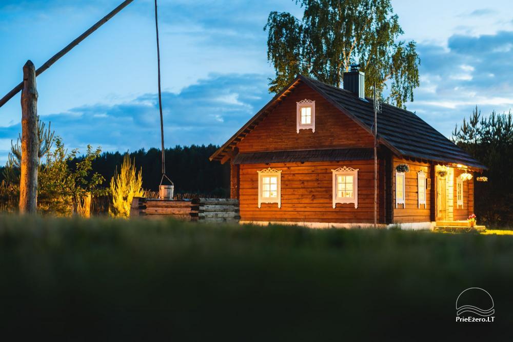 Etnogrāfiskā sēta Lietuvā Po Vienu Rūmu - 1