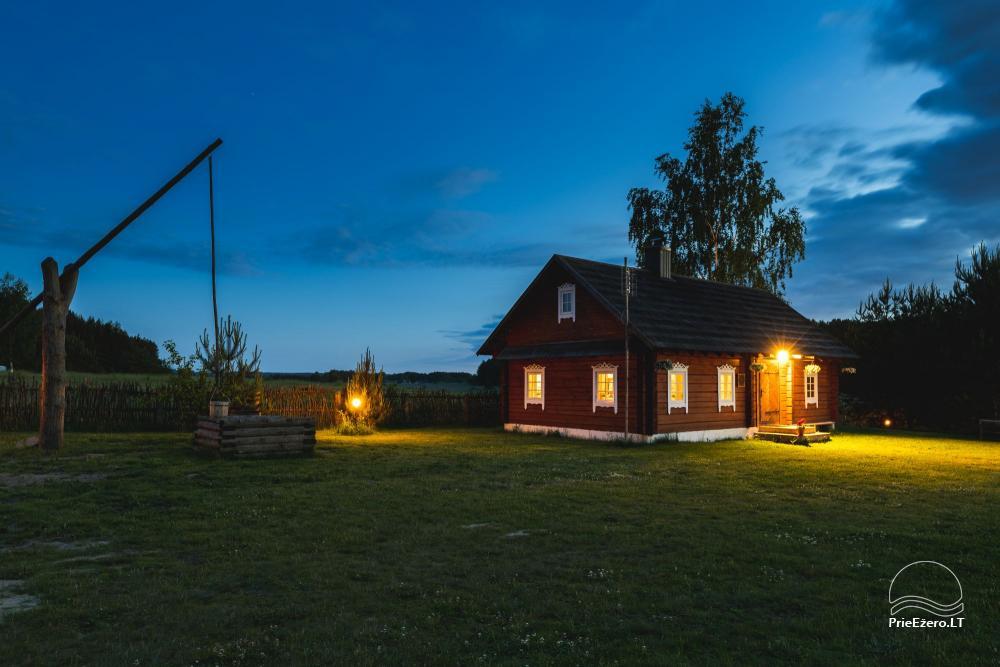 Etnogrāfiskā sēta Lietuvā Po Vienu Rūmu - 34