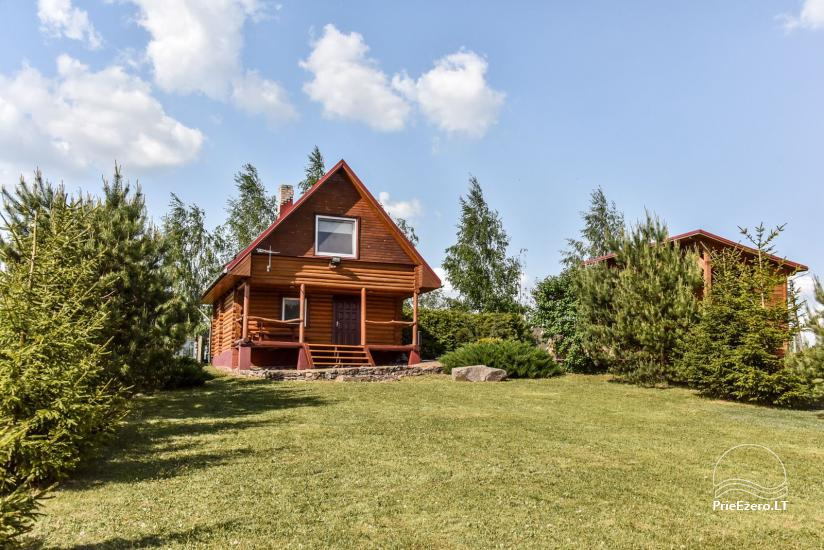 Lauku sēta Danutes sauna pie ezera Lietuvā - 1