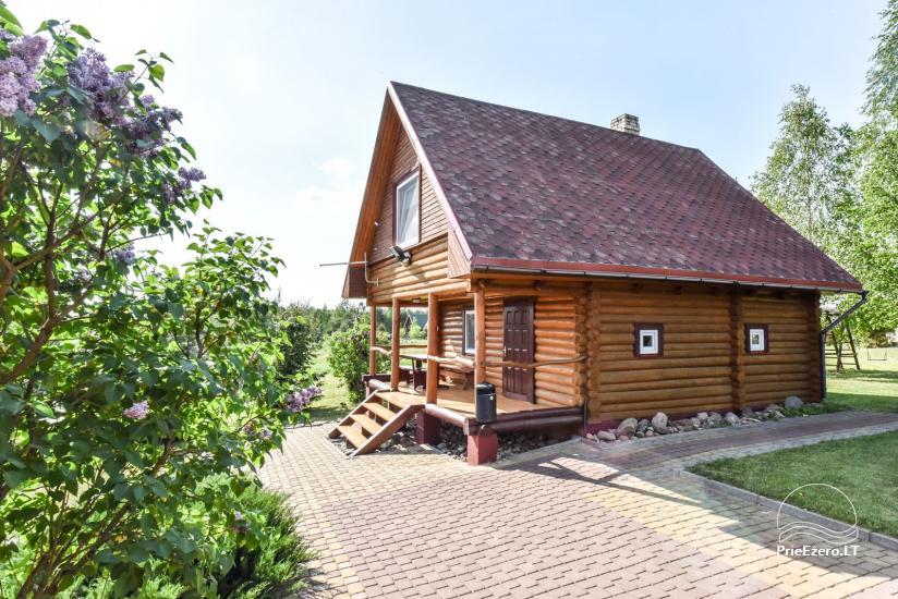 Lauku sēta Danutes sauna pie ezera Lietuvā - 3