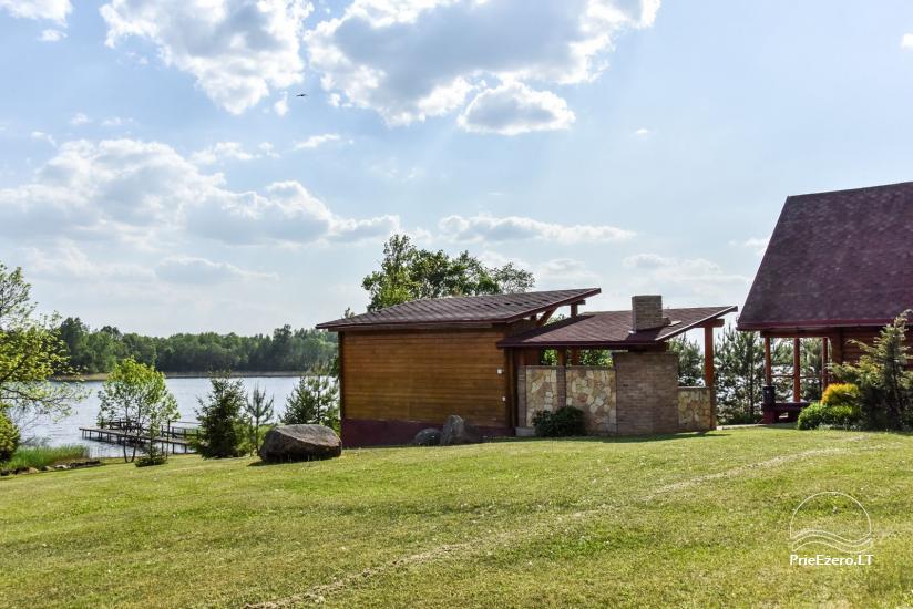 Lauku sēta Danutes sauna pie ezera Lietuvā - 4