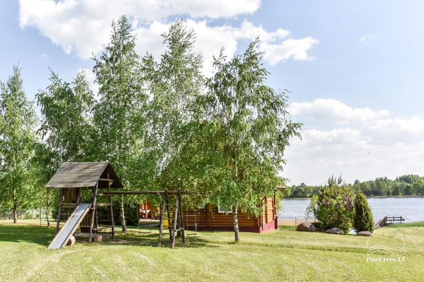 Lauku sēta Danutes sauna pie ezera Lietuvā - 6