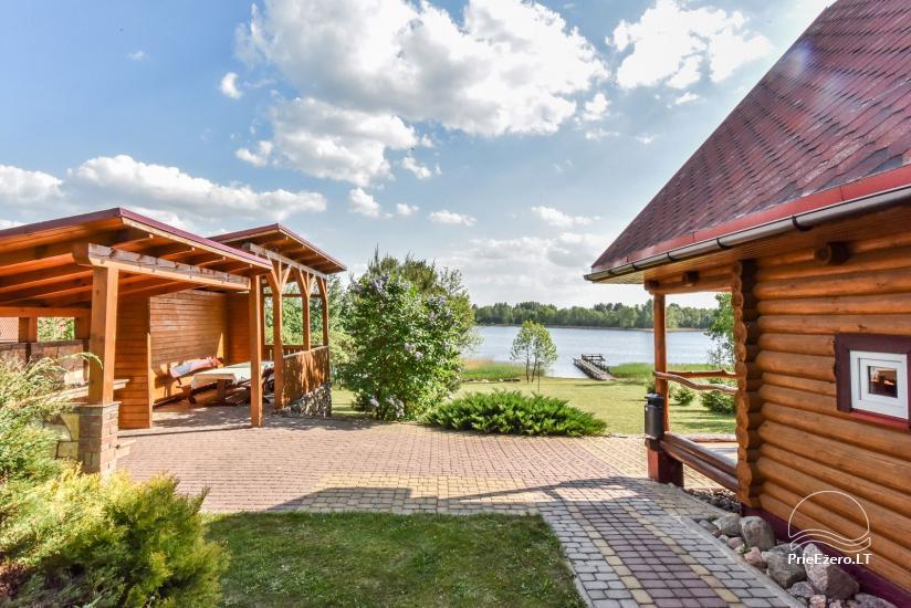Lauku sēta Danutes sauna pie ezera Lietuvā - 5