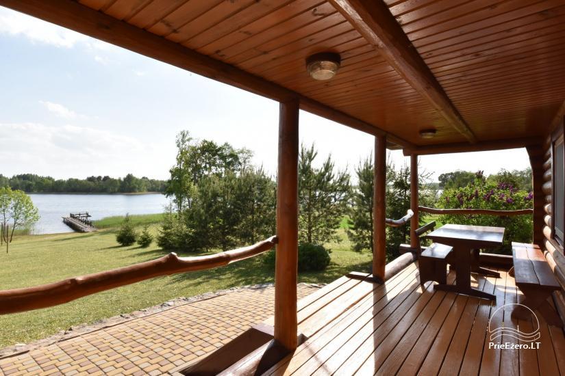Lauku sēta Danutes sauna pie ezera Lietuvā - 10