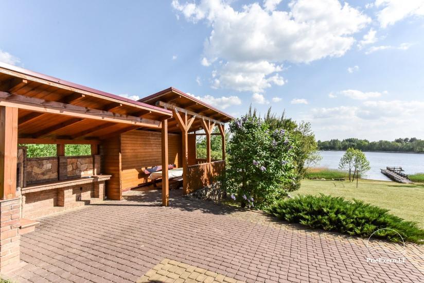Lauku sēta Danutes sauna pie ezera Lietuvā - 8