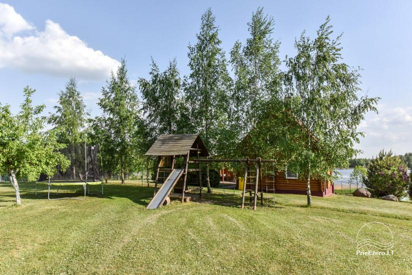 Lauku sēta Danutes sauna pie ezera Lietuvā - 7