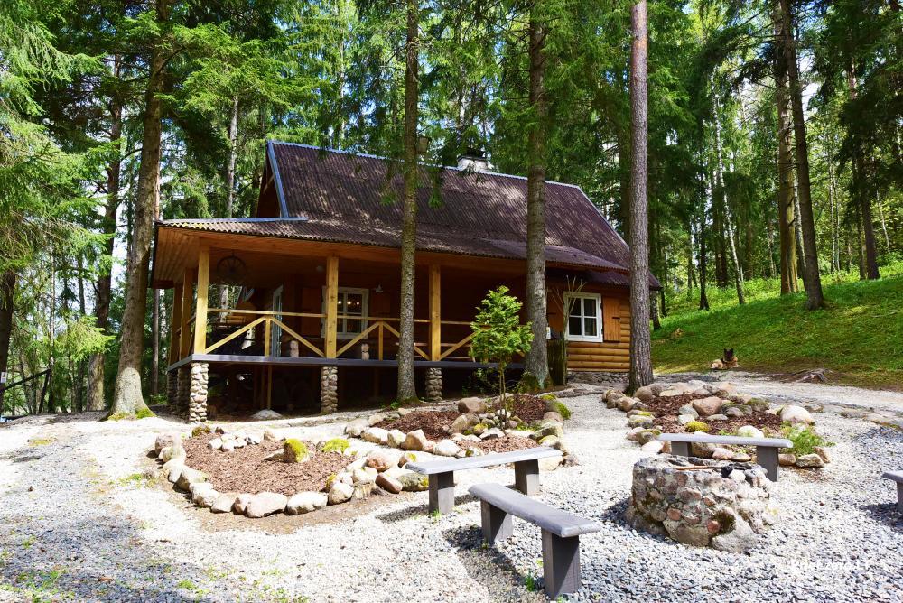 Brīvdienu māja ezera krastā Vidūnų sodyba - 2