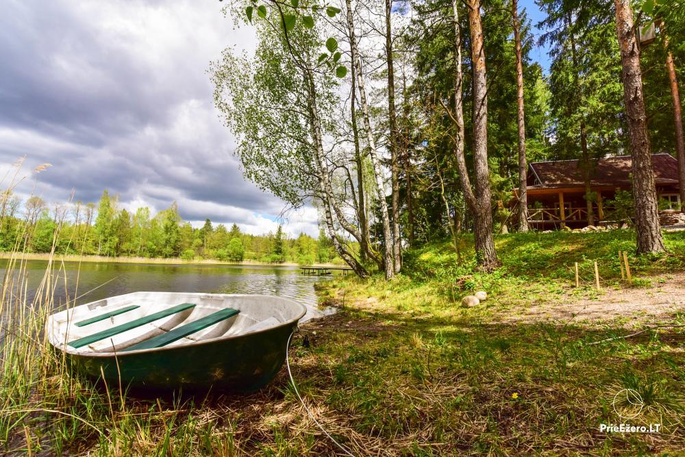 Brīvdienu māja ezera krastā Vidūnų sodyba - 5