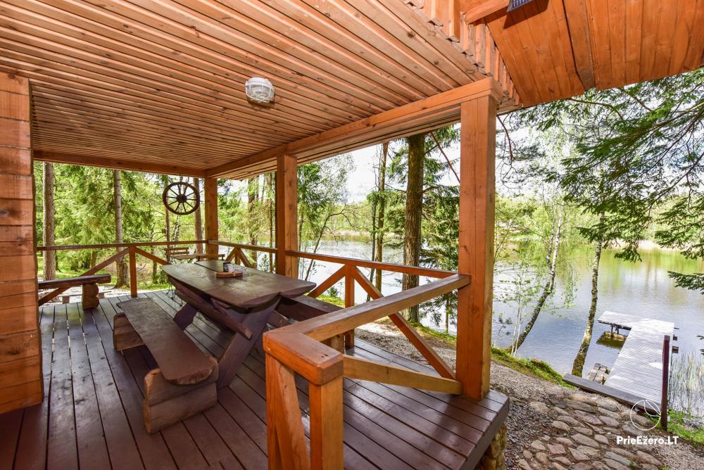 Brīvdienu māja ezera krastā Vidūnų sodyba - 4
