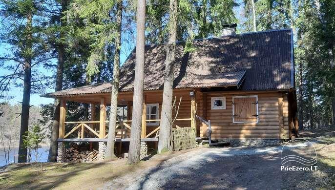 Brīvdienu māja ezera krastā Vidūnų sodyba - 1