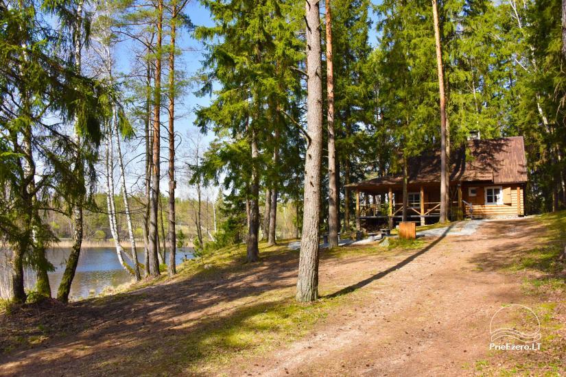 Brīvdienu māja ezera krastā Vidūnų sodyba - 9