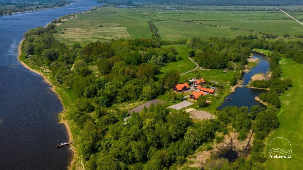 Lauku sēta Lietuvā netālu no Nemunas Tatamiškiai - 2