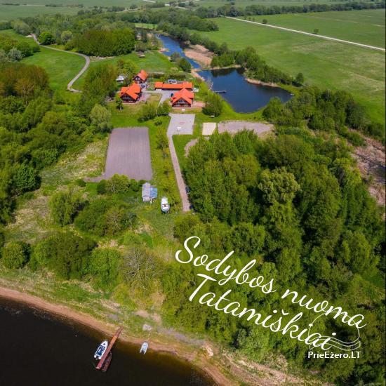 Lauku sēta Lietuvā netālu no Nemunas Tatamiškiai - 1