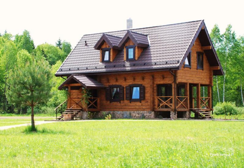 Lauku sēta pie Merkī upes Lietuvā - 1