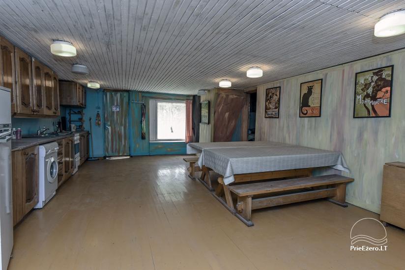 Istabu noma – Lauku sēta VARSBERGI 100 m attālumā no pape ezera - 26