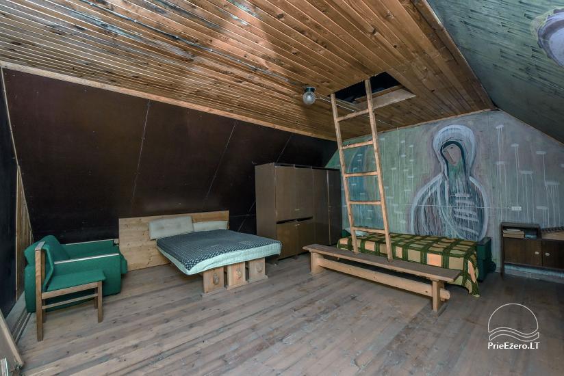 Istabu noma – Lauku sēta VARSBERGI 100 m attālumā no pape ezera - 27