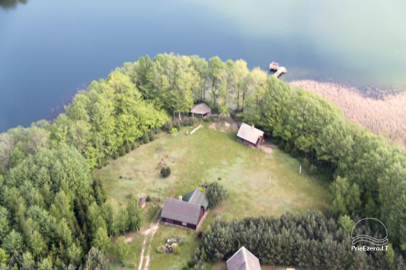 Lauku sēta pie Galstas ezera Lietuvā - 1