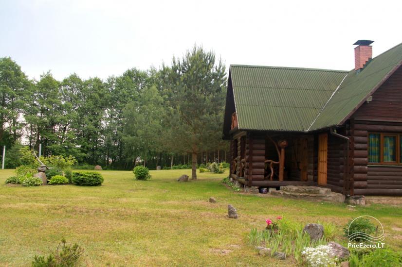 Lauku sēta pie Galstas ezera Lietuvā - 2